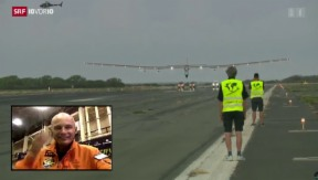 Video «Solar Impulse in Hawaii gelandet» abspielen