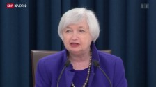 Video «US-Notenbank erhöht Leitzins» abspielen