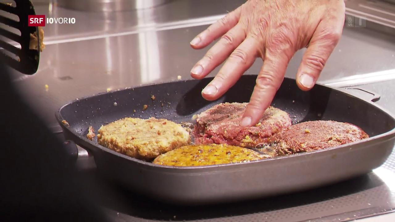«Das Menü von morgen»: Der Fake-Burger