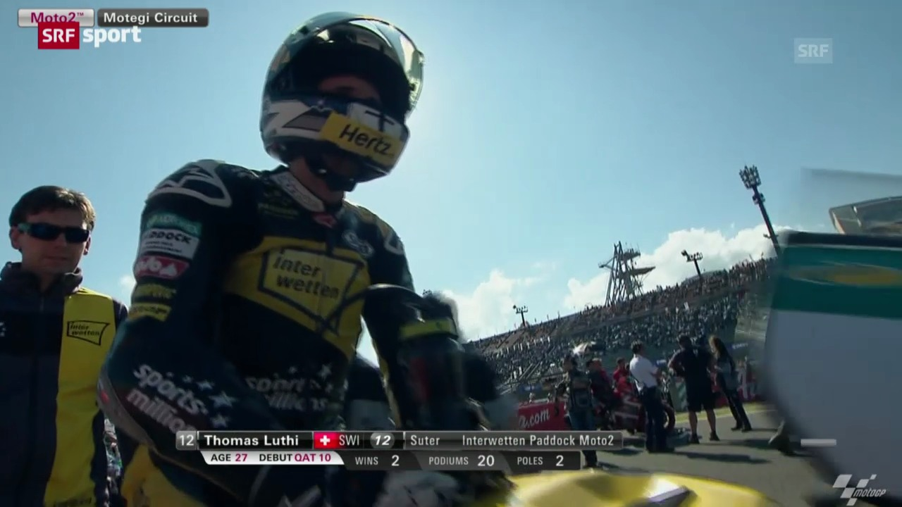 Moto2: GP von Japan («sportpanorama»)