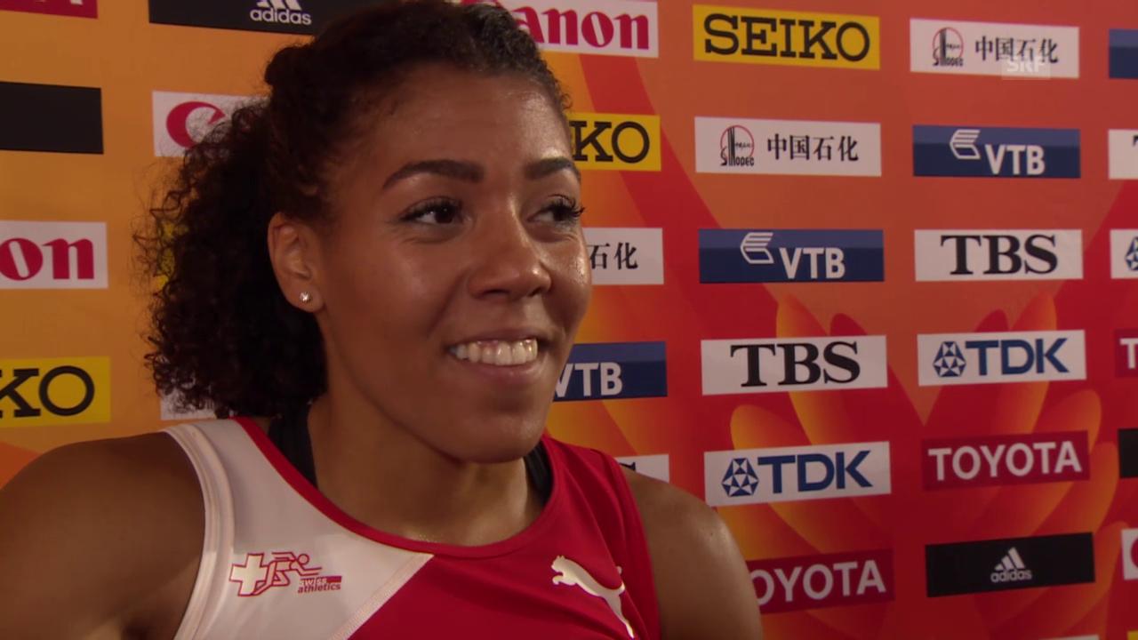 Interview Kambundji nach 200-m-Halbfinal