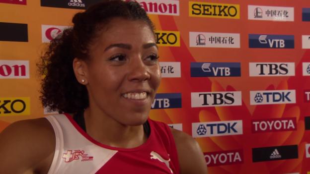 Video «Interview Kambundji nach 200-m-Halbfinal» abspielen