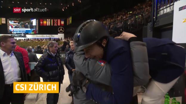 Video «Fuchs mit Traumauftakt am CSI Zürich» abspielen