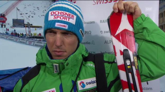 Ski alpin: Interview mit Carlo Janka («sportlive»)