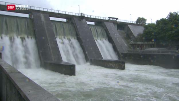 Video «Zusammen gegen Überschwemmungen» abspielen