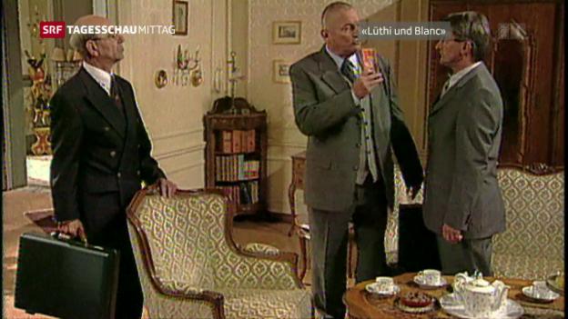Video «Schauspieler Hans Heinz Moser ist gestorben» abspielen