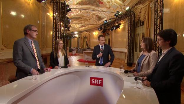 Video «Bundeshausjournalisten analysieren dei Wahl» abspielen