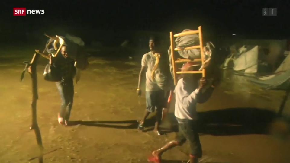 Südwesten Haitis wird von Tropensturm heimgesucht