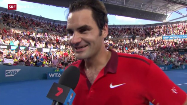 Video «Tennis: Federer-Dimitrov» abspielen