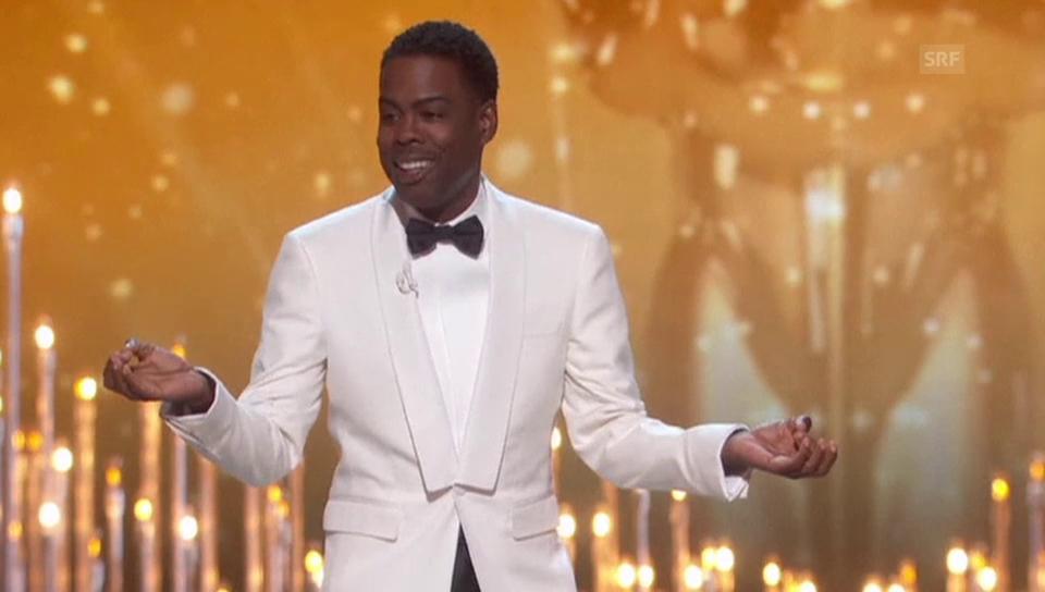 Rundumschlag: So eröffnet Chris Rock die Oscars 2016