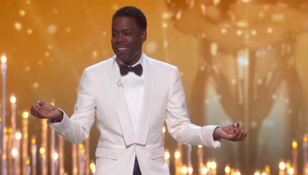 Video «Rundumschlag: So eröffnet Chris Rock die Oscars 2016» abspielen