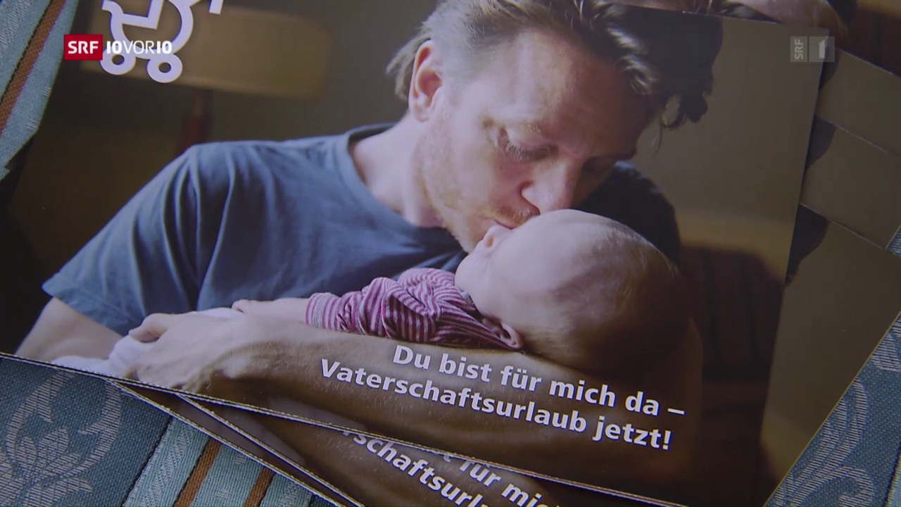 Initiative für 20 Tage Vaterschaftsurlaub per Gesetz