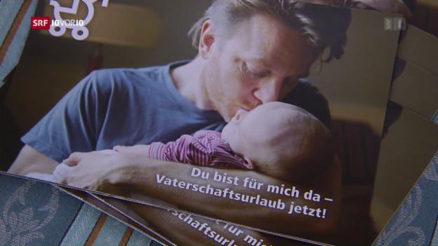 Video «Initiative für 20 Tage Vaterschaftsurlaub per Gesetz» abspielen