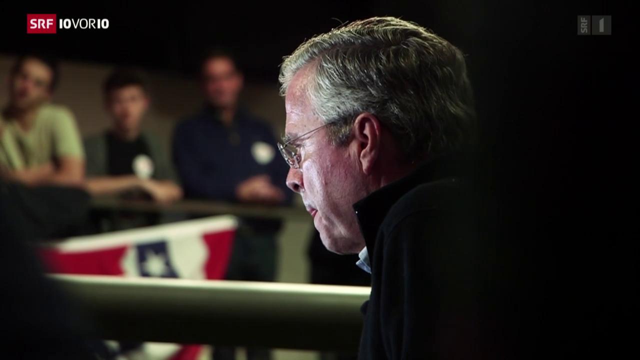 Jeb Bush im Sinkflug
