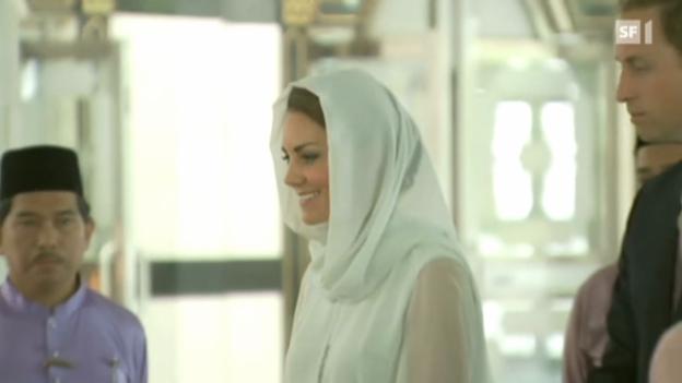 Video «Im September tauchen Oben-ohne-Bilder von Herzogin Catherine auf» abspielen