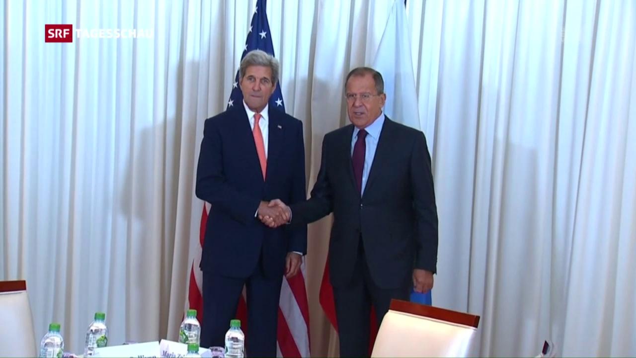 Kerry und Lawrow bei Syrien-Treffen in Genf