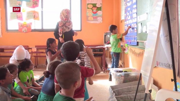 Video «Schulunterricht für Flüchtlingskinder» abspielen
