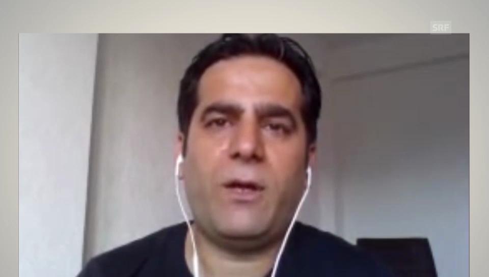 Hossein zur Lage in Umeda
