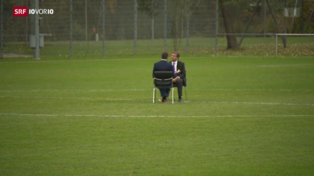 Video «Ein Neuer für die Fifa-Spitze» abspielen