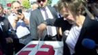 Video «Calmy-Rey im Kosovo» abspielen