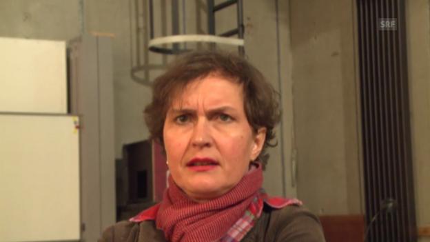 Video «Intendantin Barbara Frey ist verärgert über das Abstimmungsergebnis» abspielen