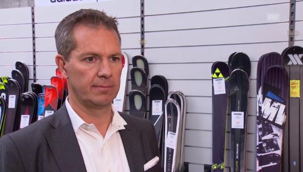 Video «CEO Bundeli über den sinkenden Umsatz bei Intersport» abspielen