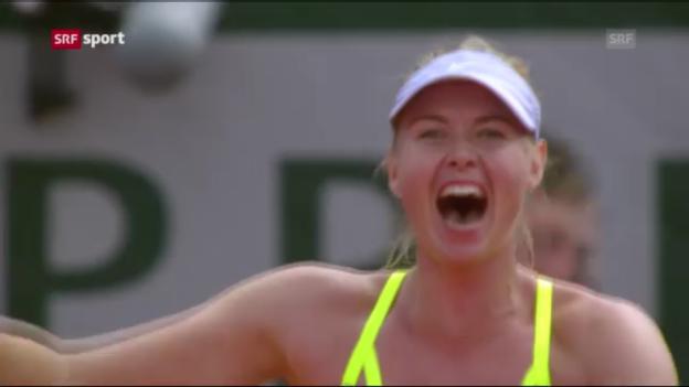 Video «Tennis: Viertelfinals der Frauen («sportaktuell»)» abspielen