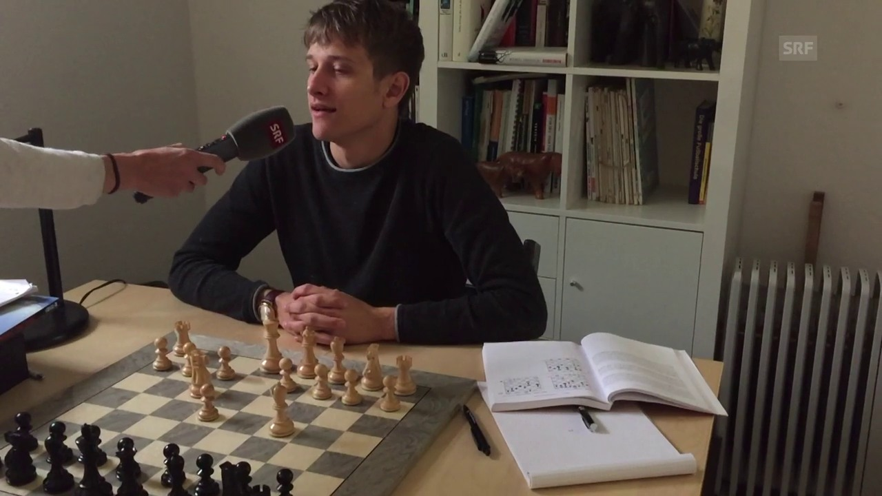 Berner Schachprofi Noël Studer (3.5.2017)
