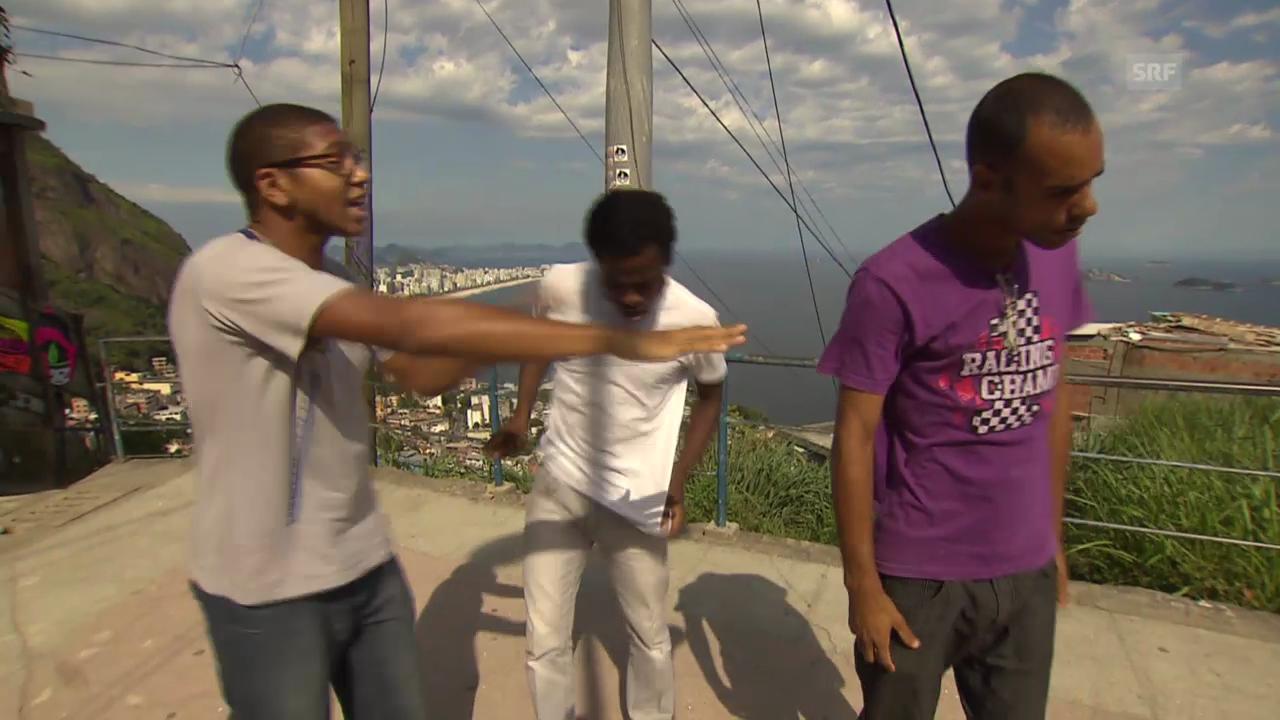 Theater in der Favela