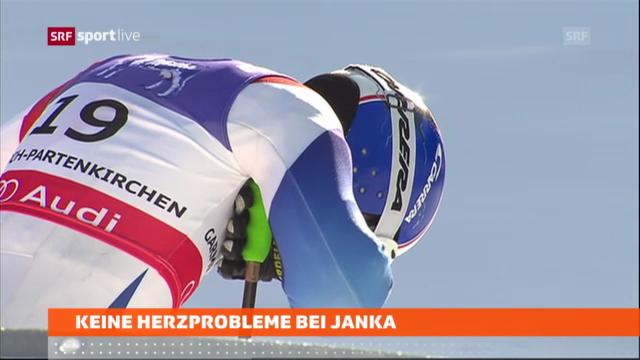 Keine Herzprobleme bei Carlo Janka «sportaktuell»)