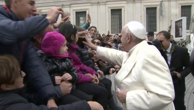 Video «Die Gesten des Papstes» abspielen