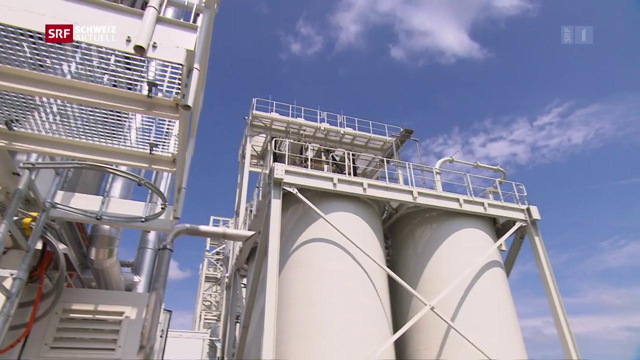 Neue CO2-Filteranlage eröffnet