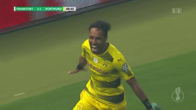 Video «Aubameyang trifft per Panenka-Penalty» abspielen