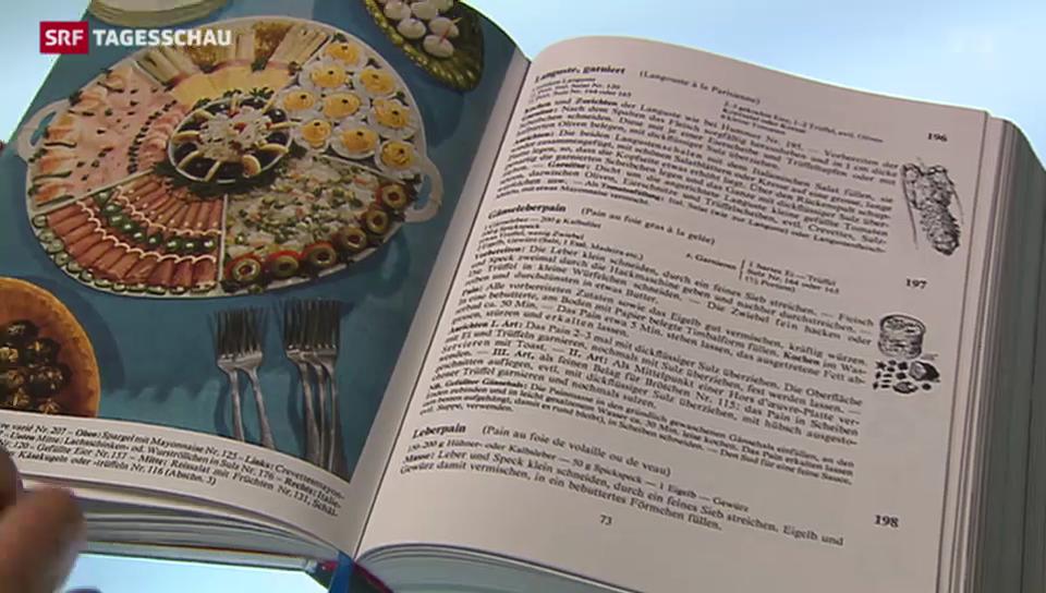 Aus dem Archiv: Neuauflage des Fülscher-Kochbuchs