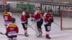 Video «Eishockey: Schweizer Frauen Nati am Nations Cup in Füssen» abspielen