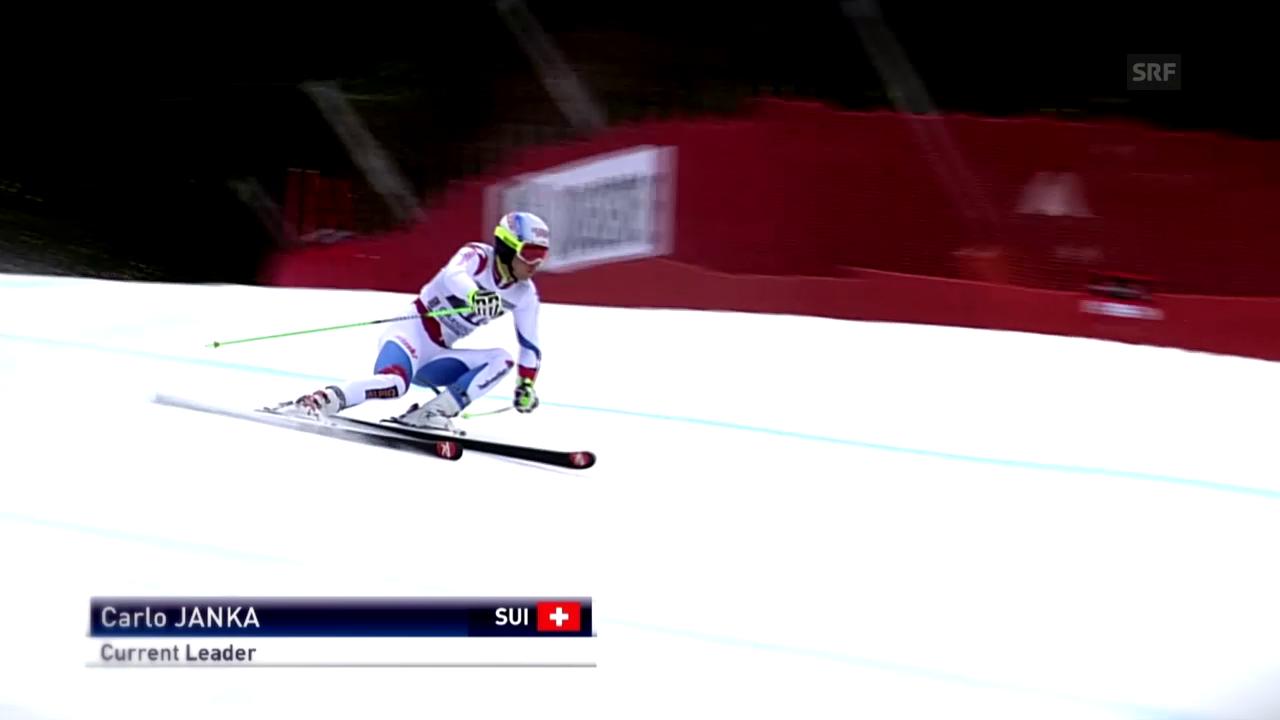 Ski: Carlo Jankas Aufwärtstrend im Riesenslalom