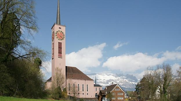 Glockengeläut der reformierten Kirche in Buchs