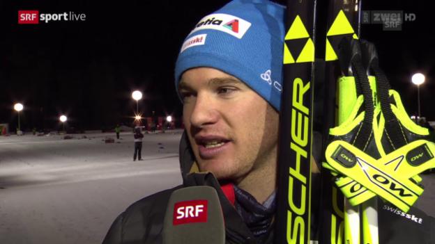 Video «Langlauf: Tour de Ski, Interview Dario Cologna» abspielen