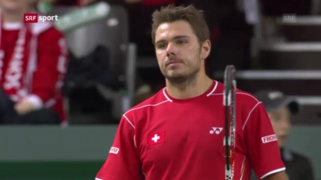 Video «Tennis: Davis Cup («sportpanorama»)» abspielen