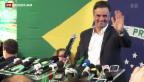 Video «Brasilien geht in die Stichwahl» abspielen