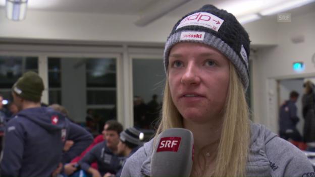 Video «Nadine Fähndrich: «Es kommt gut, wenn ich mich nicht verkrampfe»» abspielen