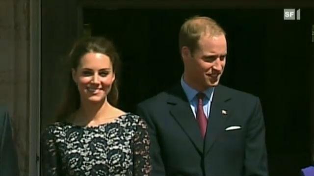 Mit William und Catherine in Kanada