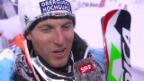 Video «Ski-WM Vail/Beaver Creek, SL Männer, Interview Fritz Dopfer» abspielen