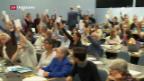 Video «SGB beschliesst Stimmfreigabe zum Steuerdeal» abspielen