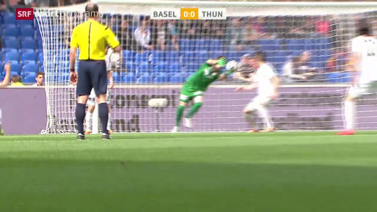 Fussball: Basel-Thun