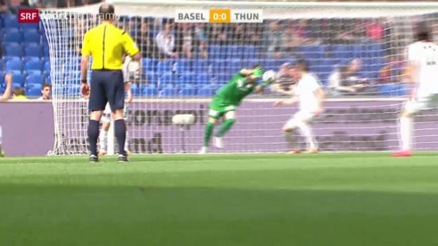 Video «Fussball: Basel-Thun» abspielen