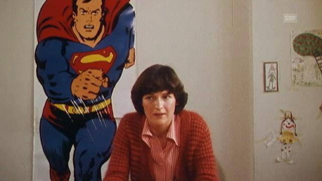 Superman im «Monatsmagazin» von 1976