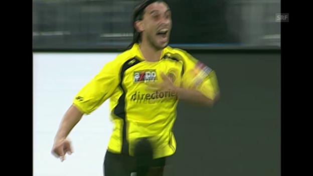 Video «Fussball: Zusammenfassung YB - Basel 2006» abspielen