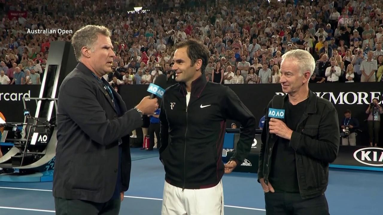 Federer: «Der Final mit Rafa war episch» (engl.)