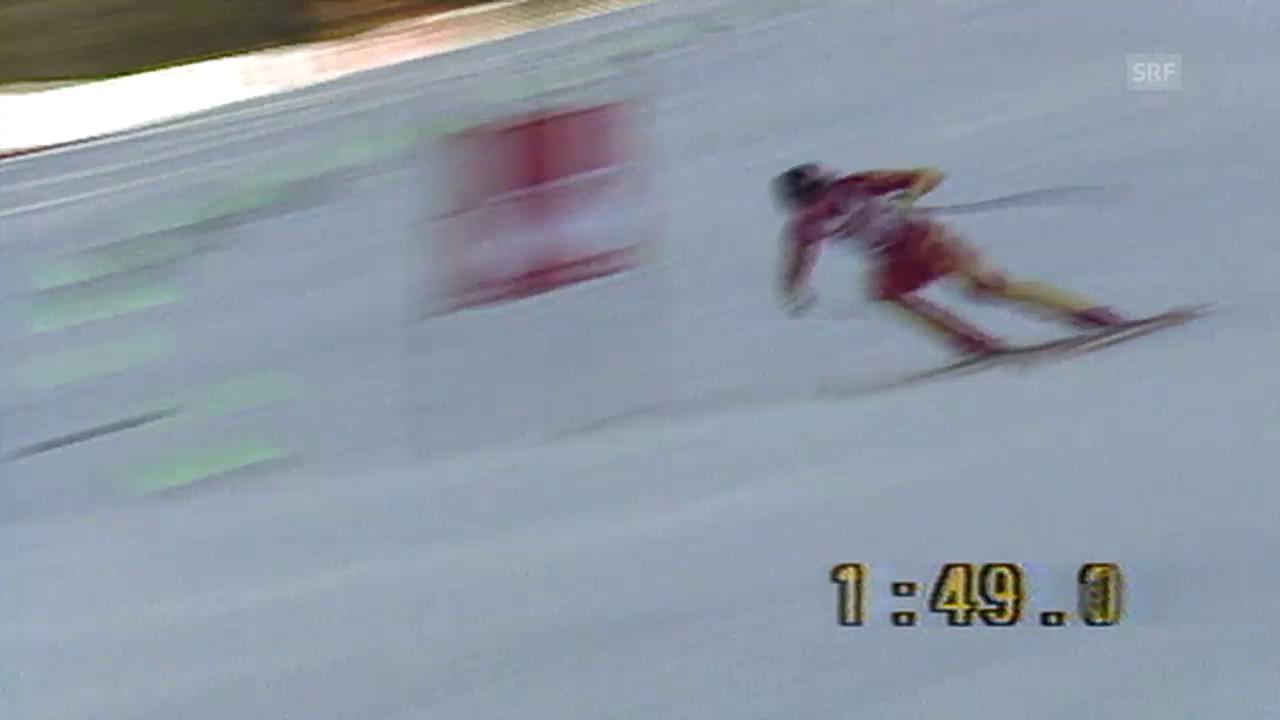 Ski alpin: Pirmin Zurbriggen wird 1985 Weltmeister